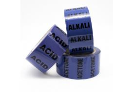 Acid and Alkali Pipe Identification Tapes (with text)