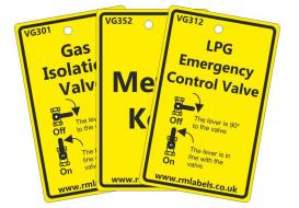 Natural Gas and LPG Tags