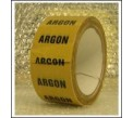 Argon Pipe Identification Tape ID130T50YO