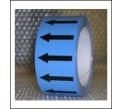 Arrows Pipe Identification Tape (Light Blue) ID007A50LB