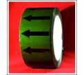 Arrows Pipe Identification Tape (Green) ID002A50G