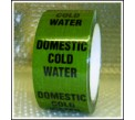 Domestic Cold Water Pipe Identification Tape ID150T50G