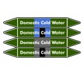 Domestic Cold Water Pipe Marker PMW26a