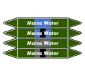 Mains Water Pipe Marker PMW48a