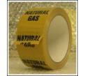 Natural Gas Pipe Identification Tape ID134T50YO
