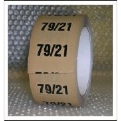 79%/21% Pipe Identification Tape ID221T50YO