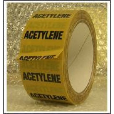 Acetylene Pipe Identification Tape ID128T50YO