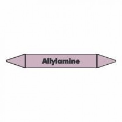 Allylamine Pipe Marker self adhesive vinyl code PMAc06a