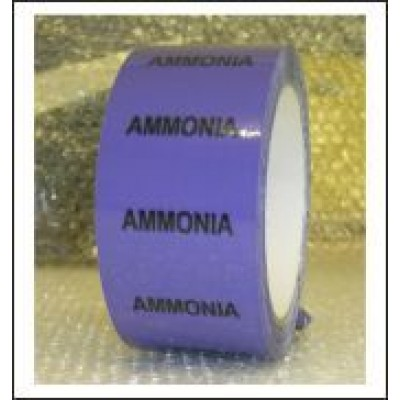 Ammonia Pipe Identification Tape ID504T50V