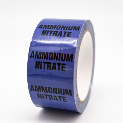 Ammonium Nitrate Pipe Identification Tape - R M Labels - ID505T50V