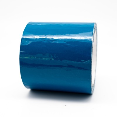 Auxiliary Blue Pipe Identification Tape 100mm wide - BS 18-E-53 - R M Labels - ID301C100