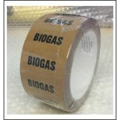 Biogas Pipe Identification Tape ID127T50YO