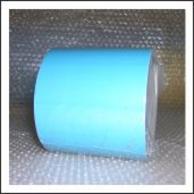 Blue External Pipe Identification Tape 100mm wide BS 18-E-51 Code EXD356C100