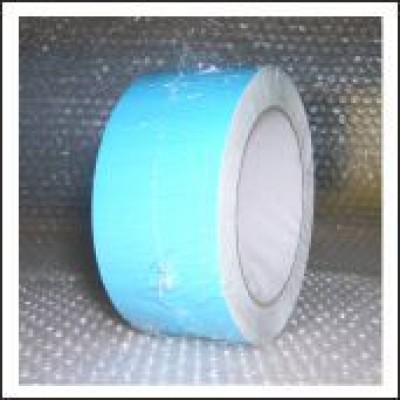 Blue External Pipe Identification Tape 50mm wide BS 18-E-51 Code EXD256C50