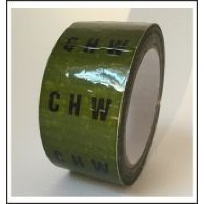 CHW Pipe Identification Tape ID260T50G