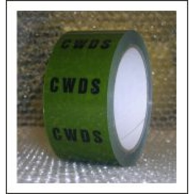 CWDS Pipe Identification Tape ID140T50G