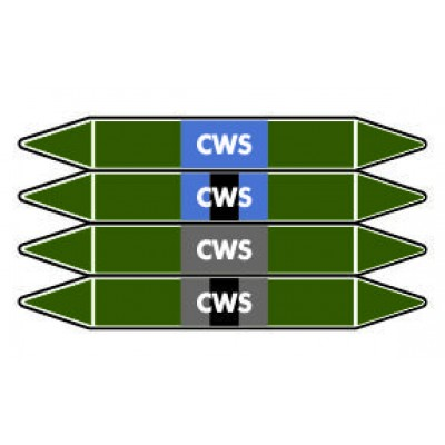 CWS Pipe Marker PMW21a