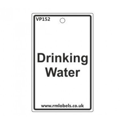 Drinking Water Label Code VP152