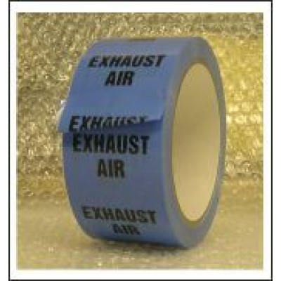Exhaust Air Pipe Identification Tape ID179T50LB
