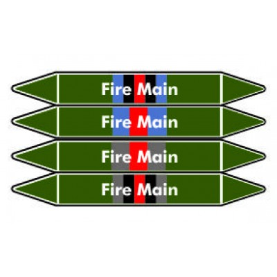 Fire Main Pipe Marker PMF02a