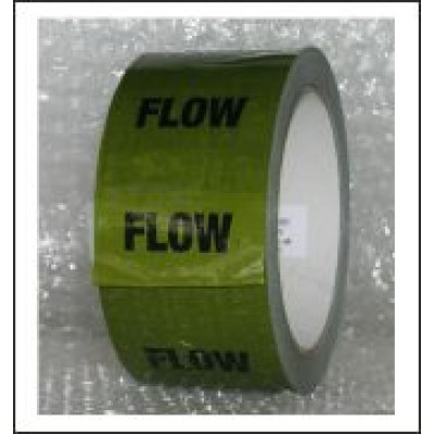 Flow Pipe Identification Tape (Green) ID168T50G