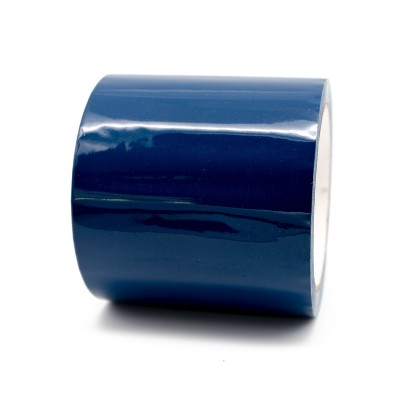 French Blue Pipe Identification Tape 100mm wide 20-D-45 - R M Labels - ID321C100