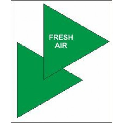 Fresh Air Triangle for Air Conditioning Ductwork AC006
