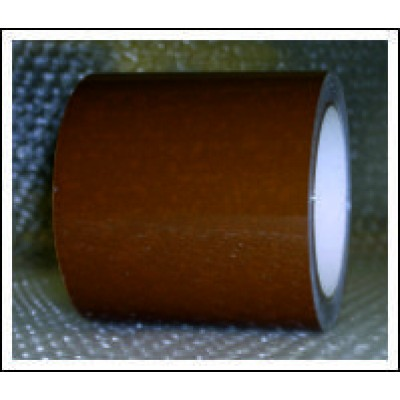 Golden Brown Pipe Identification Tape 100mm wide 06-D-45 Code ID319C100