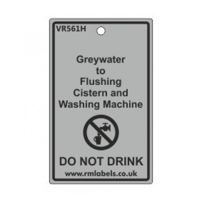 Greywater to Flushing Cistern and Washing Machine Label Code VR561H