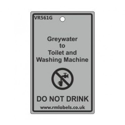 Greywater to Toilet and Washing Machine Label Code VR561G