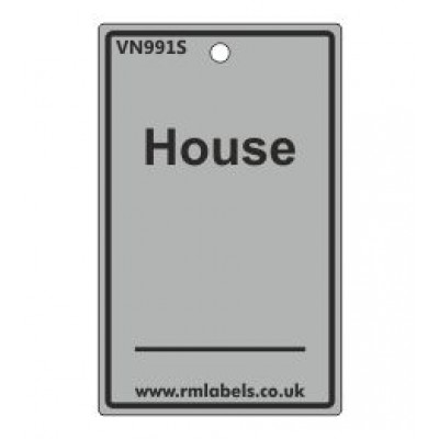 House Label in grey Code VN991S