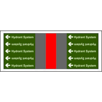 Hydrant System Pipe Banding for Potable Fire Safety Systems from Any Other Source PB030PFAOS