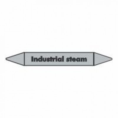 Industrial Steam Pipe Marker self adhesive code PMS05a