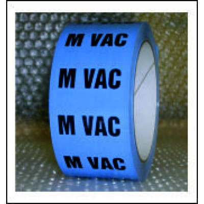 Medical Vacuum Pipe Identification Tape ID274T50LB