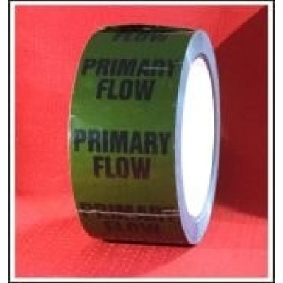 Primary Flow self adhesive Pipe Identification Tape Code ID258T50G