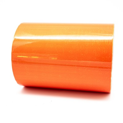Pure Orange External Pipe Identification Tape 150mm wide - RAL 2004 - R M Labels - EXD452C150