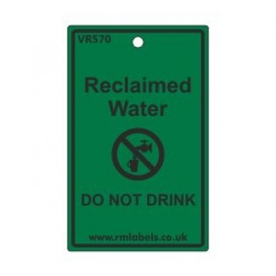 Reclaimed Water Label Code VR570
