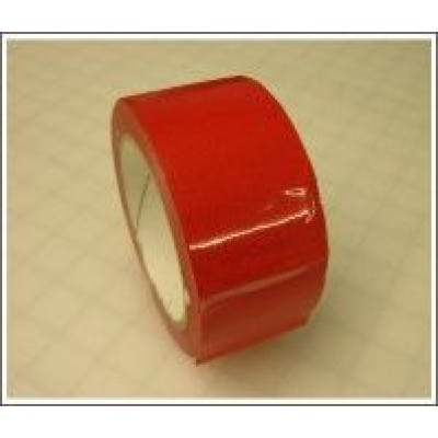 Red Pipe Identification Tape 50mm wide 04-E-53 Code ID213C50