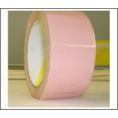 Salmon Pink Pipe Identification Tape 50mm wide 04-C-33 Code ID214C50