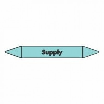Supply Pipe Marker for Air self adhesive vinyl code PMCa22a
