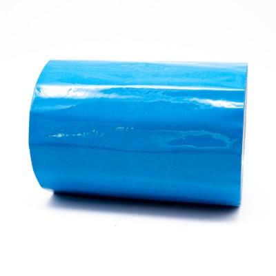 Traffic Blue External Pipe Identification Tape 150mm wide RAL 5017 - R M Labels - EXD453C150