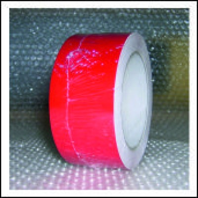 Traffic Red External Pipe Identification Tape 50mm wide RAL 3020 Code EXD259C50