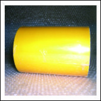 Traffic Yellow External Pipe Identification Tape 150mm wide RAL 1023 Code EXD451C150