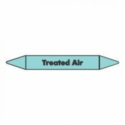 Treated Air Pipe Marker self adhesive vinyl code PMCa23a