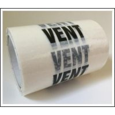Vent Pipe Identification Tape 150mm ID441T150W