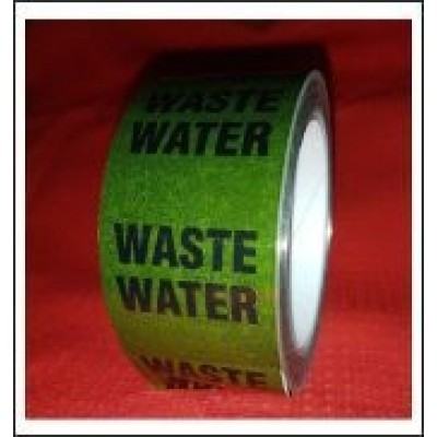 Waste Water Pipe Identification Tape ID291T50G