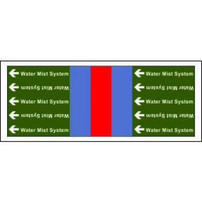 Water Mist Pipe Banding for Potable Fire Safety Systems from Public Water Supply PB032PFPWS