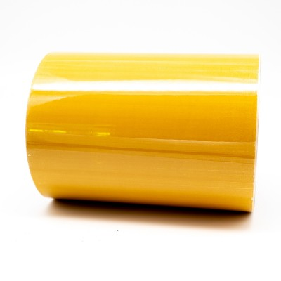 Yellow Ochre External Pipe Identification Tape 150mm wide - BS 08-C-35 - R M Labels - EXD455C150