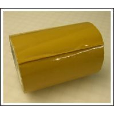 Yellow Ochre Pipe Identification Tape 150mm wide 08-C-35 Code ID406C150
