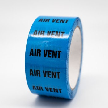 Air Vent Pipe Identification Tape - R M Labels - ID176T50LB